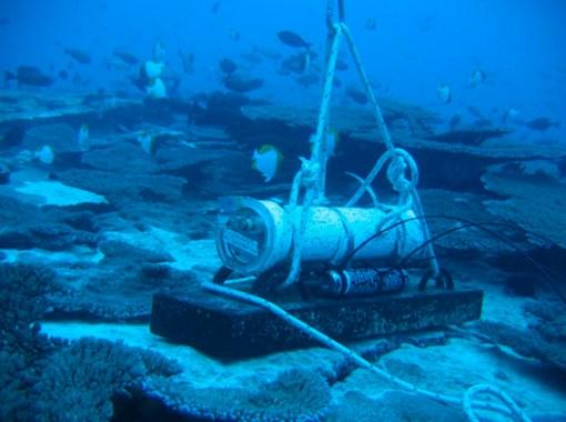 underwater reef monitor