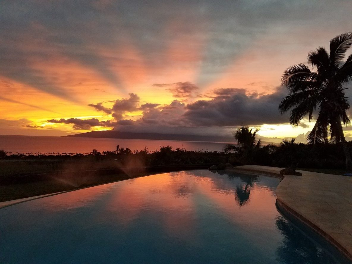 Lahaina, Maui sunset